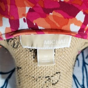 Michael Kors Dresses - Michael Kors Pink And Orange Floral Dress
